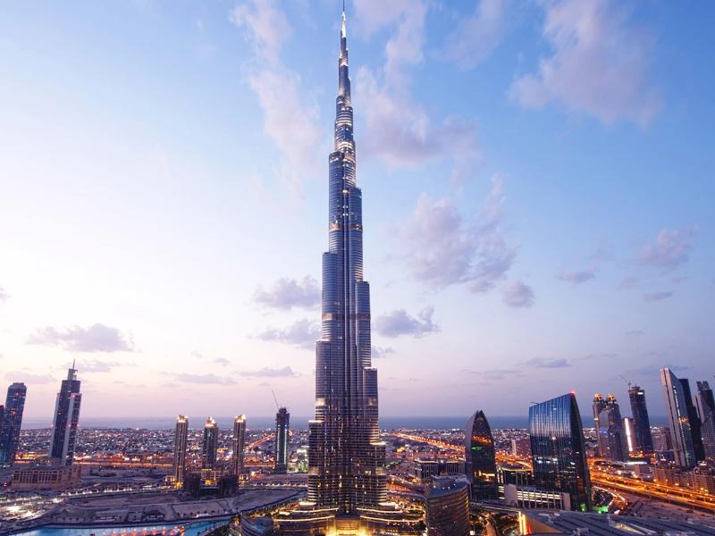Vedere Burj Khalifa