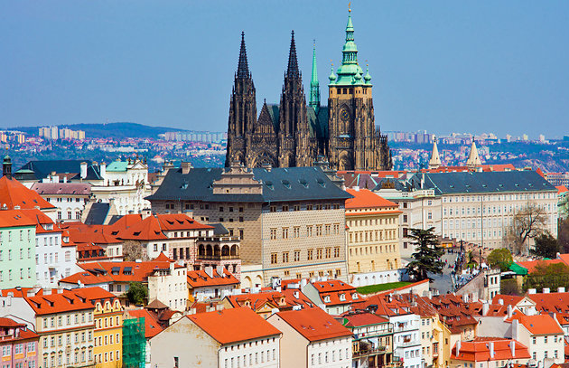 St. Vitus Cathedral Praga