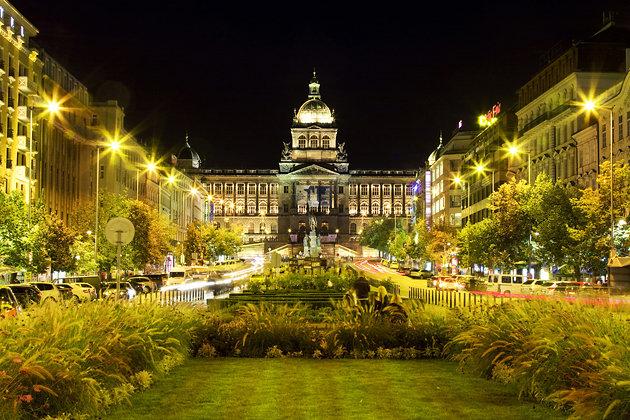 Piața Wenceslas Praga