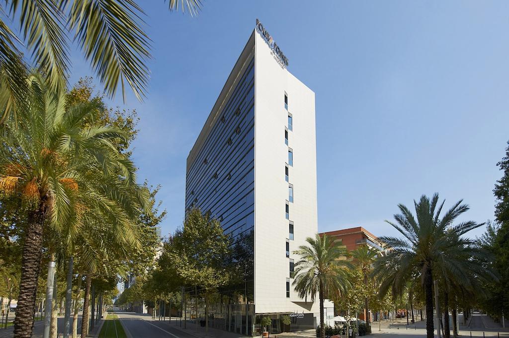 Four Points by Sheraton Barcelona Diagonal hotel view, Barcelona Spain