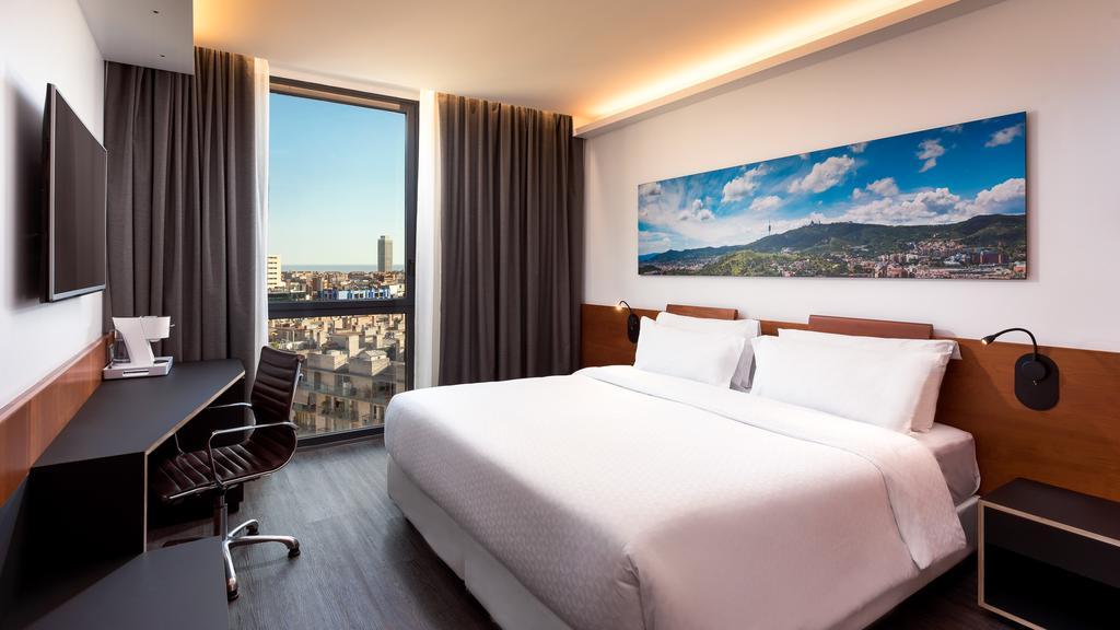Four Points by Sheraton Barcelona Diagonal room view, Barcelona Spain