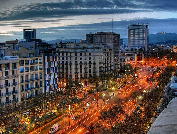 Passeig de Gràcia, Barcelona, Spain