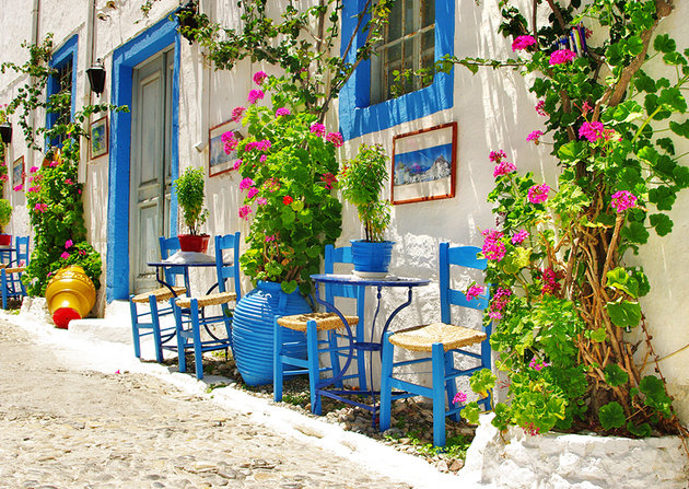 Chania Creta - Strada