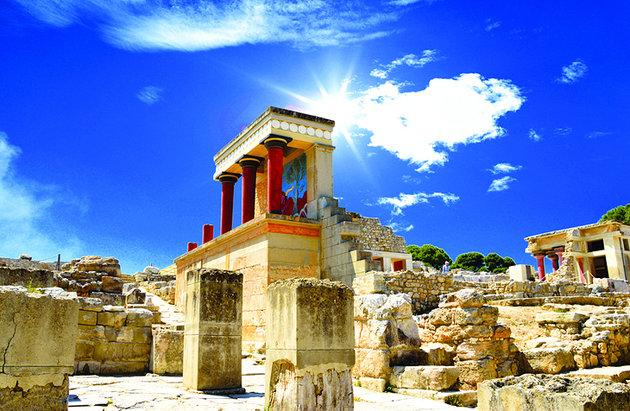 Sit arheologic Creta Knossos Heraklion