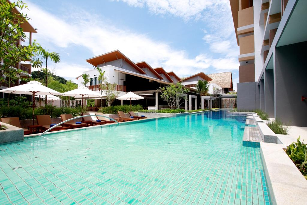 Deevana Plaza Krabi pool by Party Trip Travel Agency