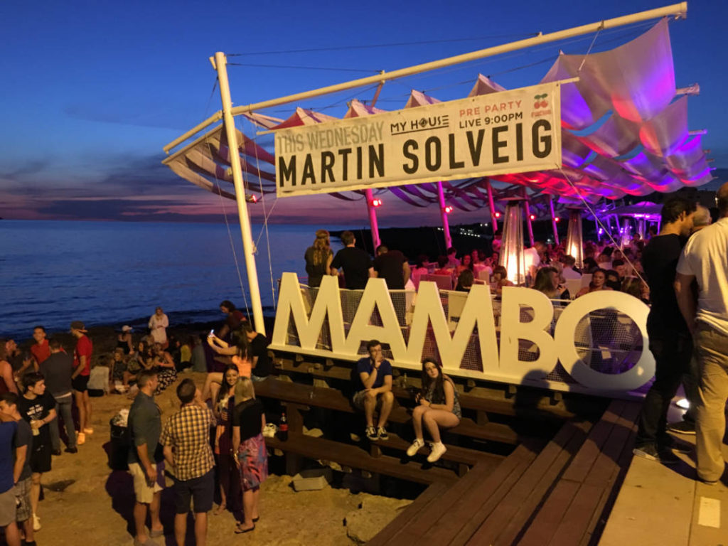 Mambo, Cafel del Mar, IBIZA, vacanta de grup by Party Trip Romania